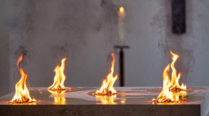 Altarweihe in Hochmutting