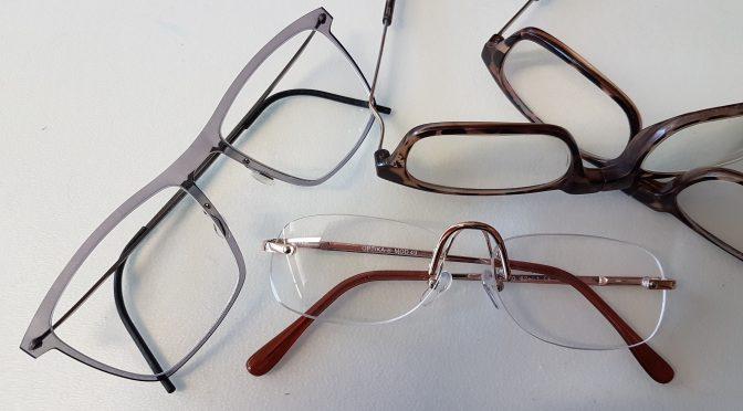 Brillen- und Handysammlung