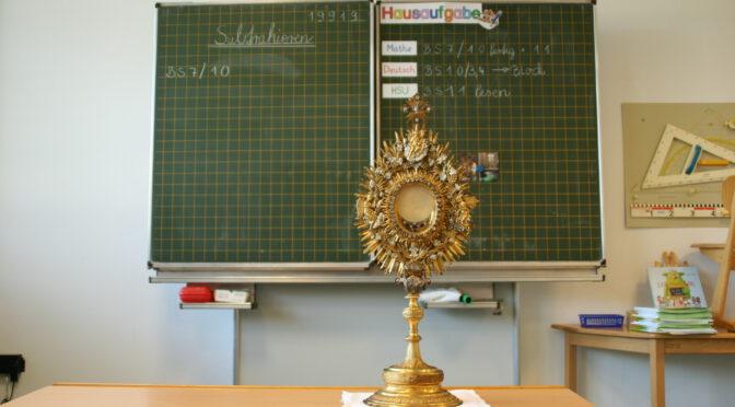 Mit Gott aufhören – Schulgottesdienste
