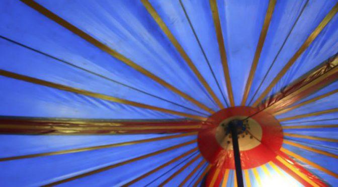 Zeltmesse am Volksfestplatz